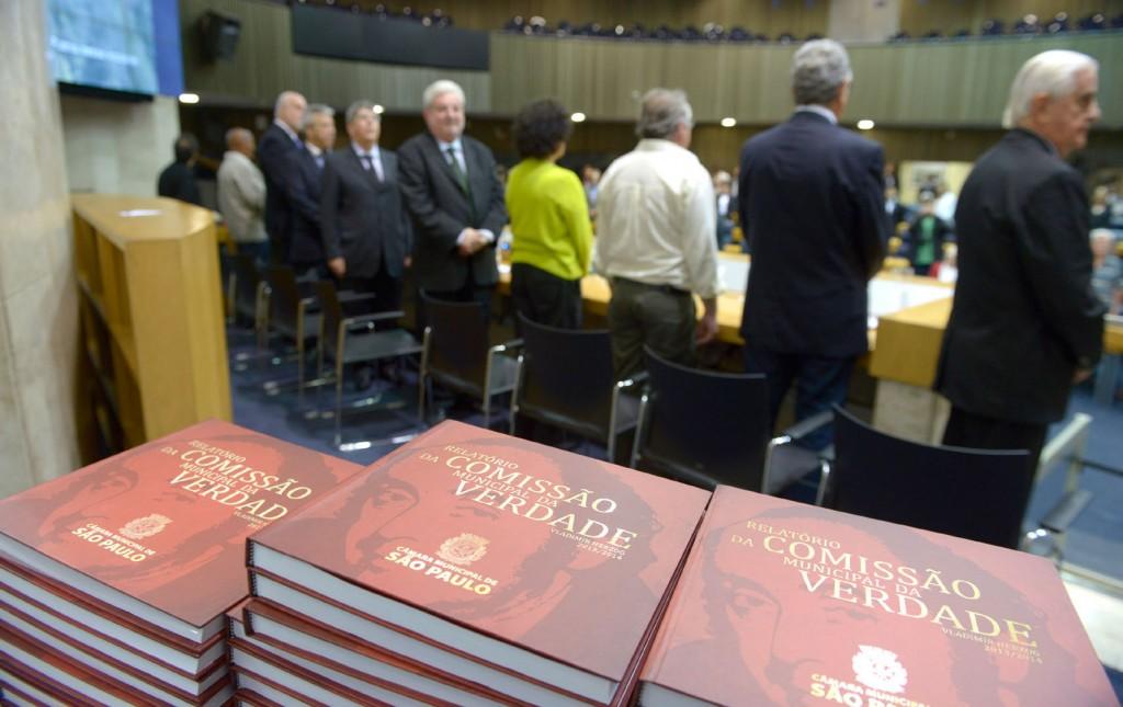 CONCLUSÃO - Apresentação do relatório final da Comissão Municipal da Verdade Vladimir Herzog, no Plenário da CMSP Foto: Gute Garbelotto/CMSP