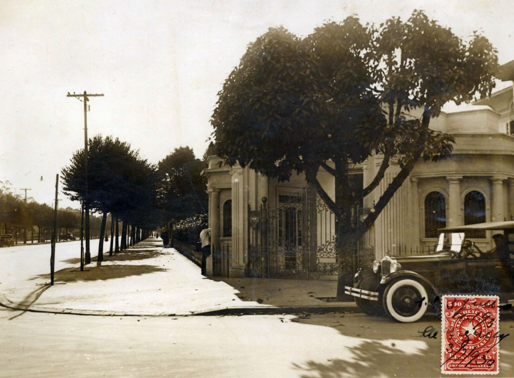 PROVA - Foto da mansão de Crespi foi anexada para mostrar desrespeito ao Código de Obras Foto: Acervo CMSP