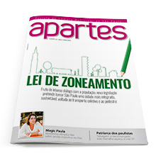 Capa da Revista Apartes
