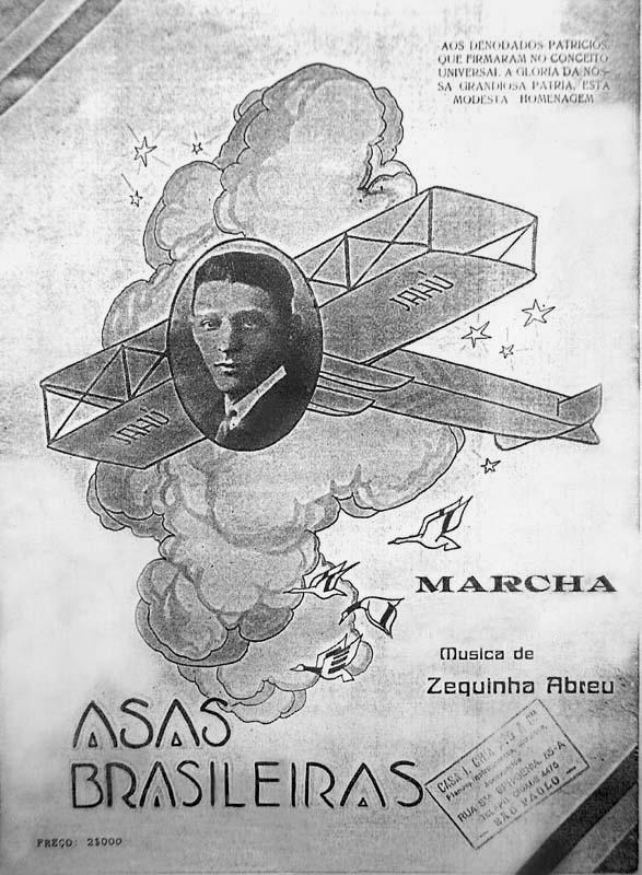 Capa da revista Asas Brasileiras.