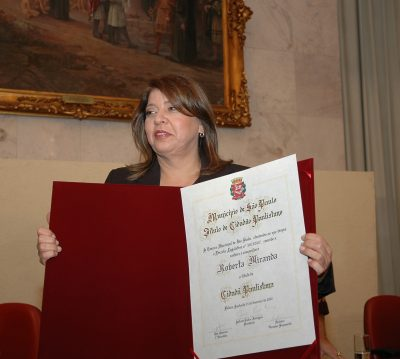 Roberta Miranda | Arquivo CMSP