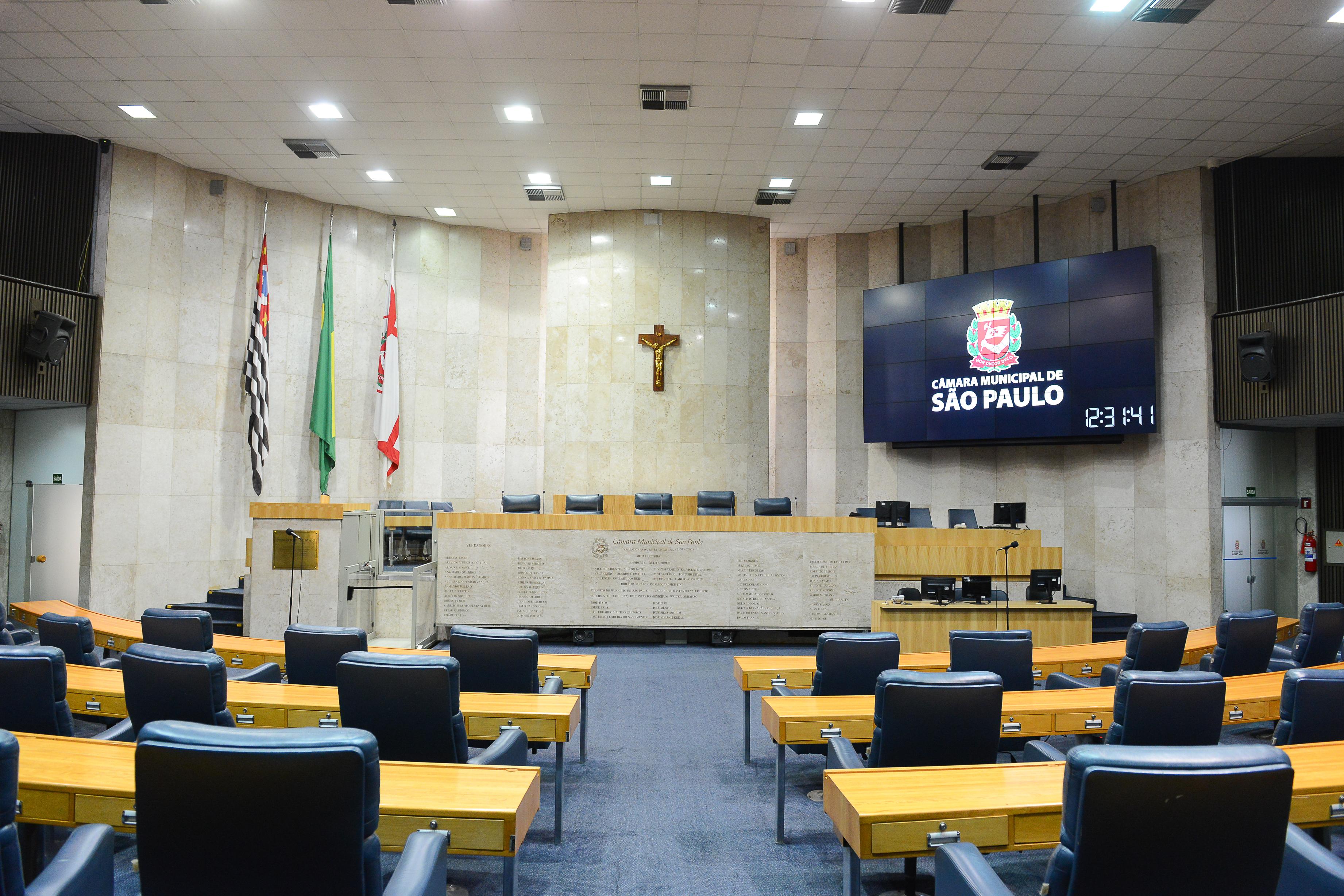 Plenário hoje