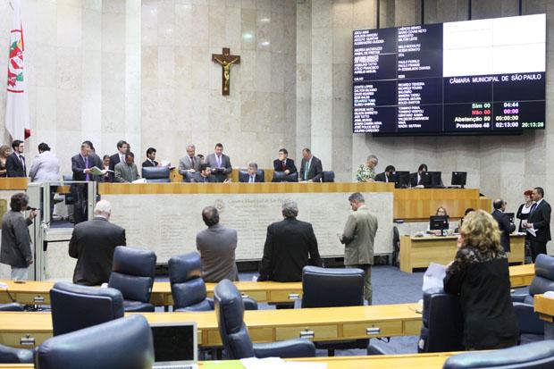 """17-12-2015 Câmara Municipal de São Paulo  Sessão Plenária  Foto: André Bueno/ CMSP """"Créditos Obrigatórios. Todos os direitos reservados conforme lei de direito Autoral Número 9.610"""""""