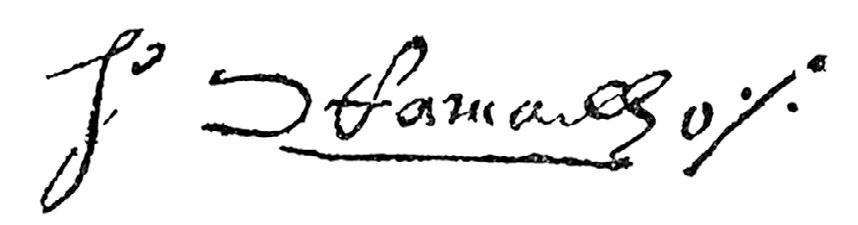 ENIGMA - A letra C ao contrário na assinatura levantou dúvidas | Foto:Reprodução/Acervo CMSP