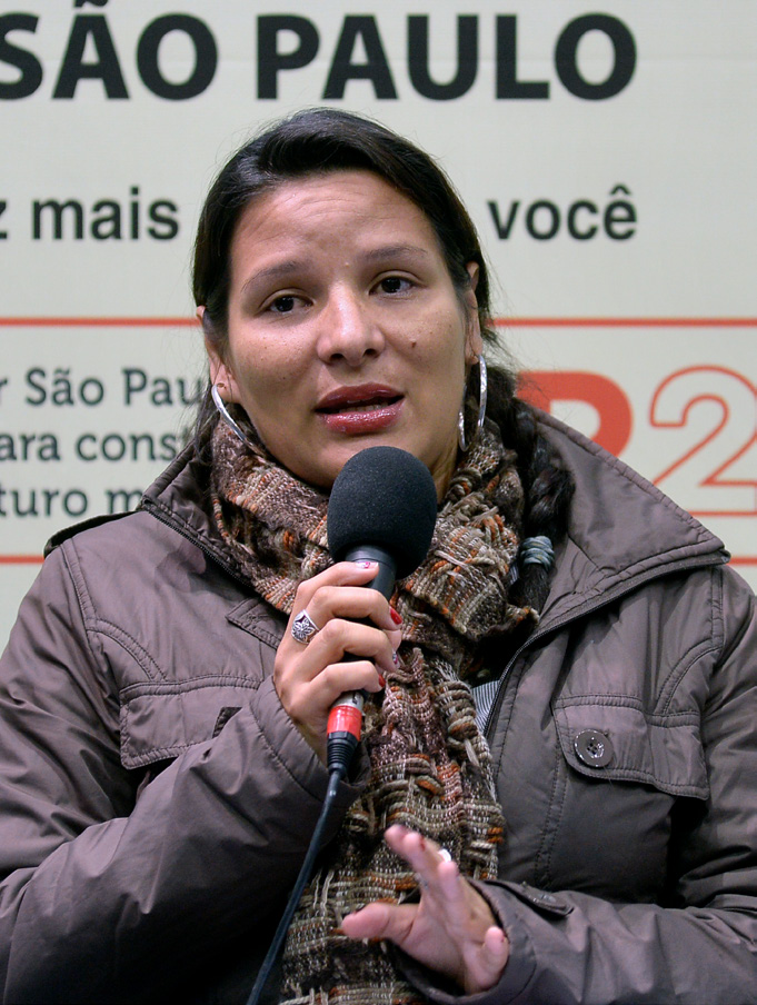 "PODER - Vereadora Juliana Cardoso: ""o povo sabe muito bem se organizar"" Foto: Gute Garbelotto/CMSP"