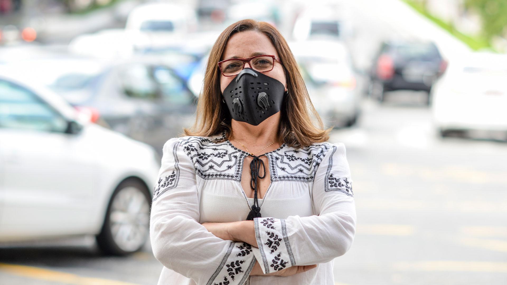 Evangelina Vormittag, especialista em poluição