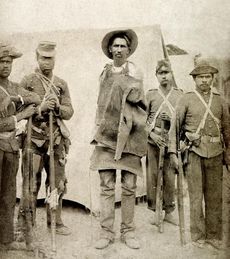 Prisioneiro capturado em Canudos