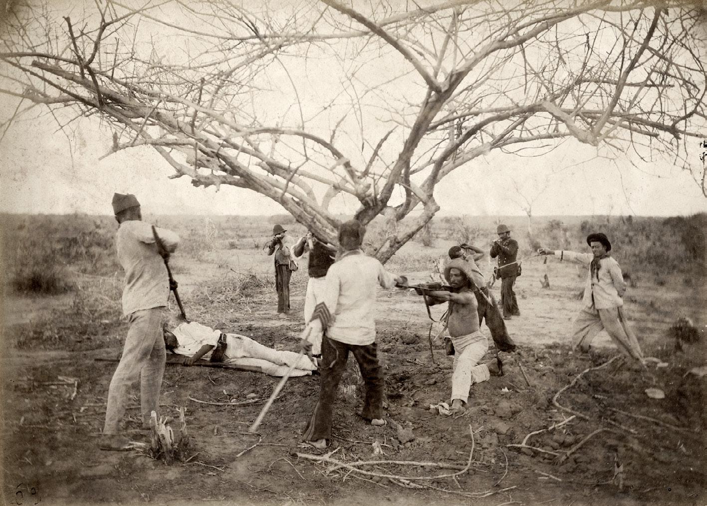 Reconstituição da captura canudenses