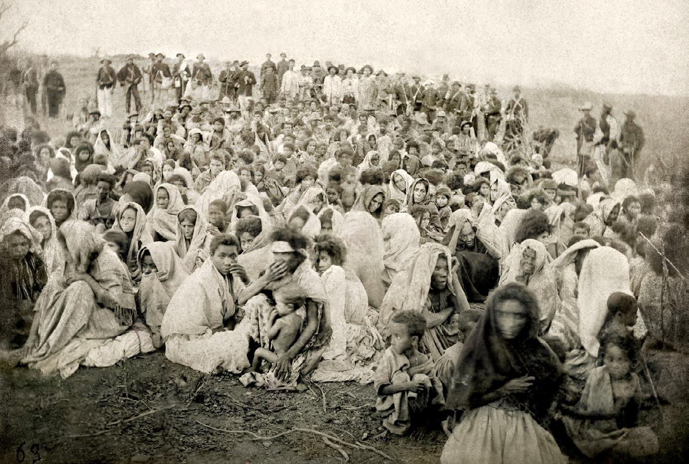 SOBREVIVENTES – Mulheres e crianças aprisionadas em Canudos