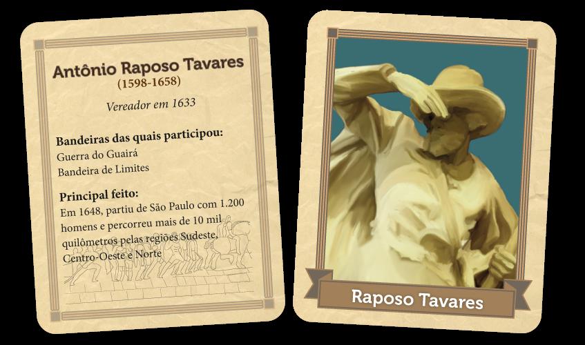 Perfil Raposo Tavares