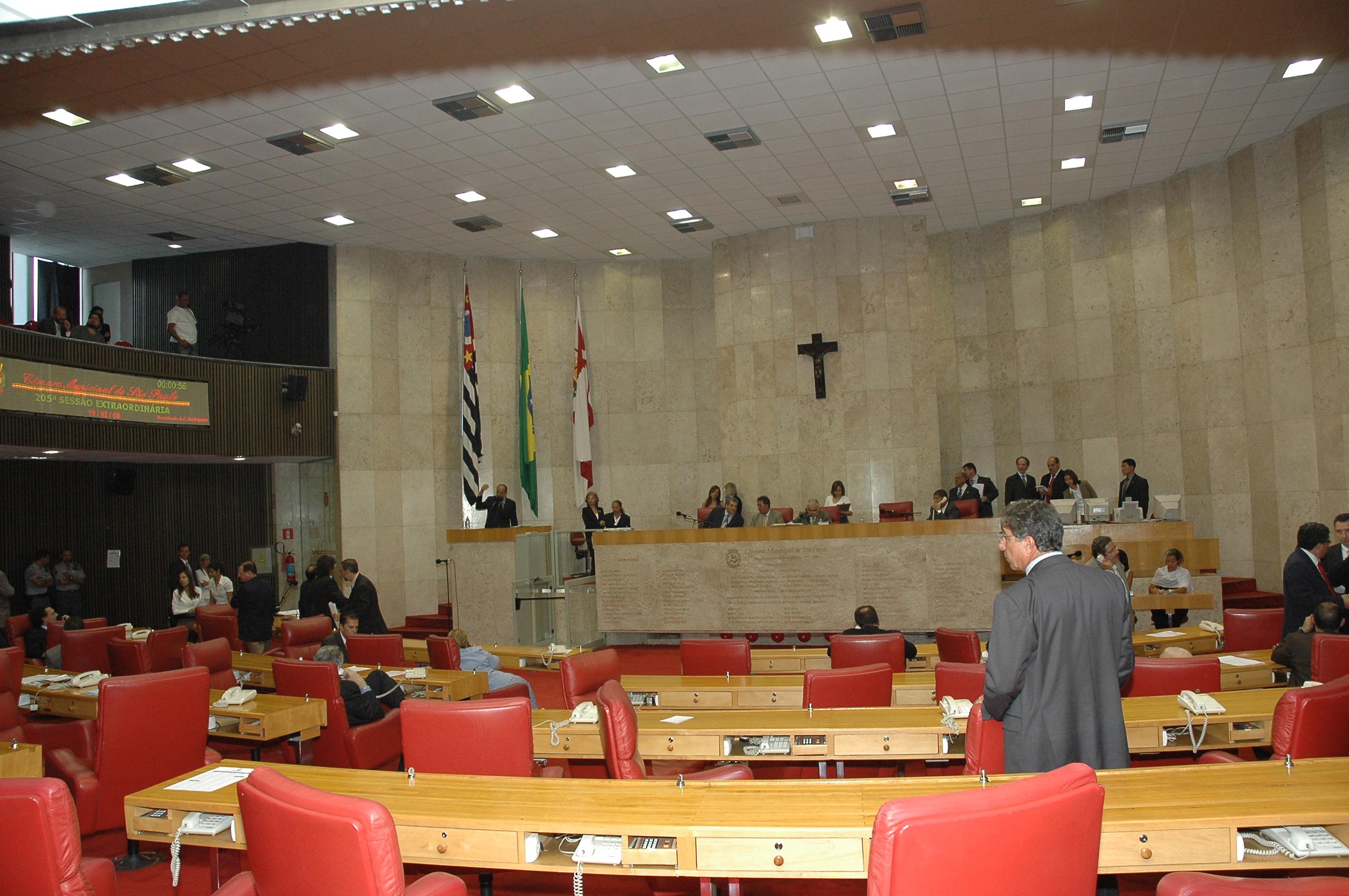 Plenário em 2008