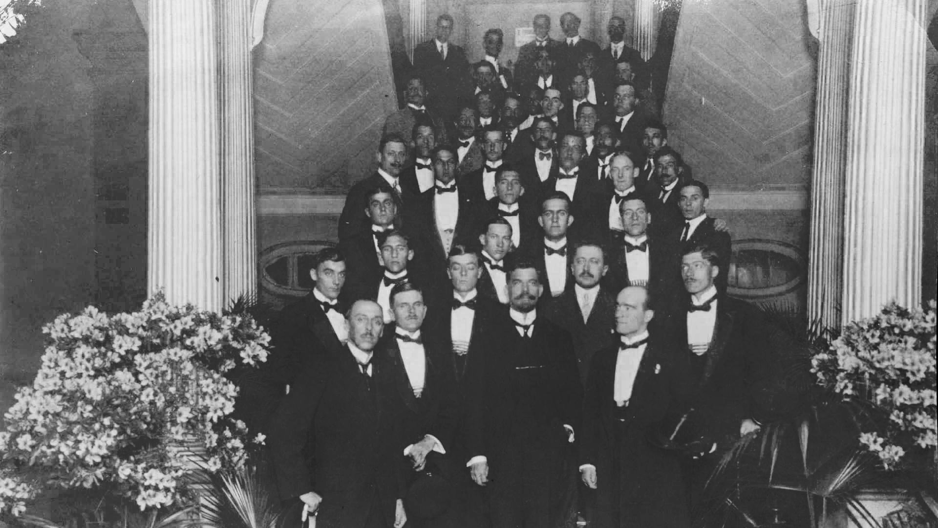 Em 1914, Washington Luís toma posse na Prefeitura de São Paulo