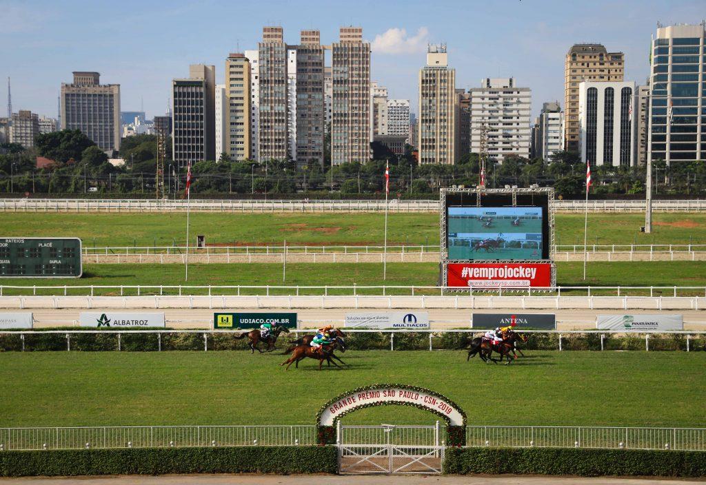 Apaixonado por cavalos, Freitas foi dono de um haras e presidente do Jockey Club de São Paulo (foto)