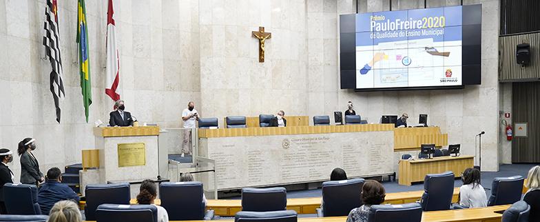 Prêmio Paulo Freire 2020