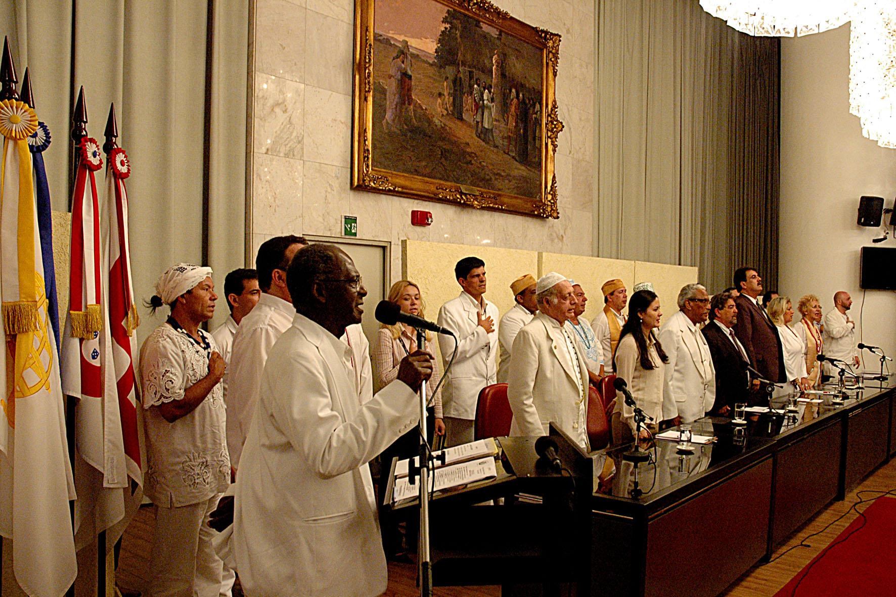 Câmara Municipal comemora 100 anos da Umbanda