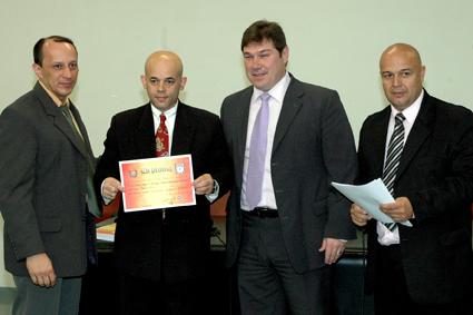 Mestres de Kung Fu são homenageados na Câmara Municipal