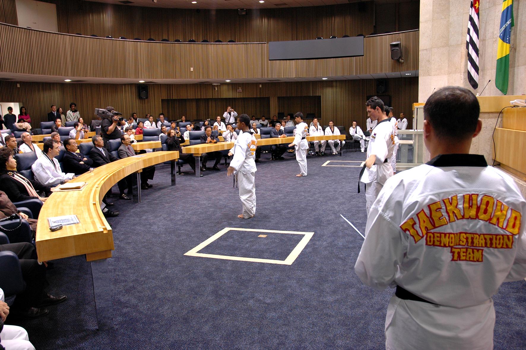Dia Municipal do Taekwondo